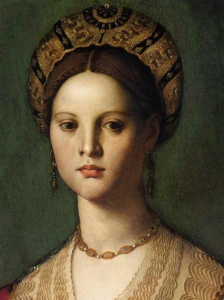 16th Century Ca 1540 Italian Detail From A Portrait Of