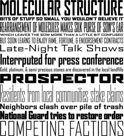 font bureau fonts agency fb 13pt projects