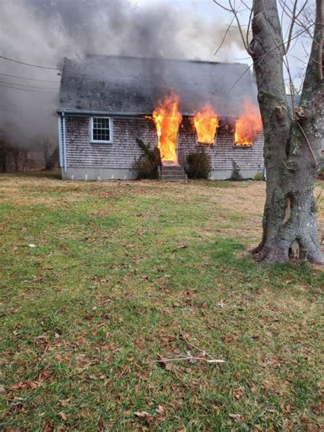 Elderly Woman Hospitalized After House Fire Dartmouth