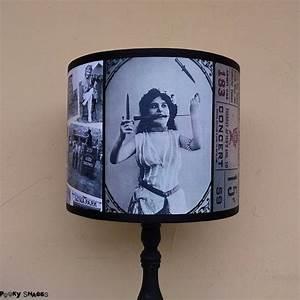 Abat Jour Original : abat jour original cirque vintage noir et blanc pour lampe ~ Melissatoandfro.com Idées de Décoration
