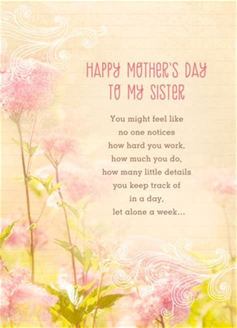 amazing sister mothers day card cardstore