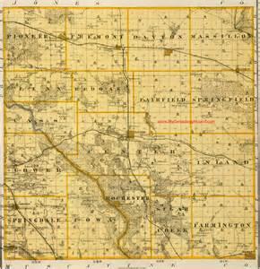 Cedar County Iowa Map