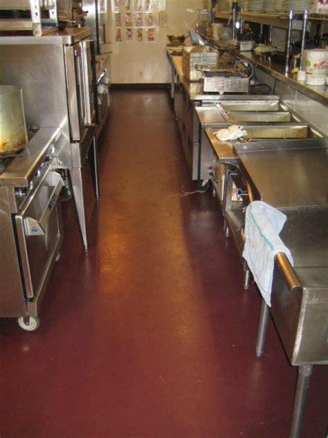 restaurant kitchen floor choosing tavern flooring what to consider florock 1902