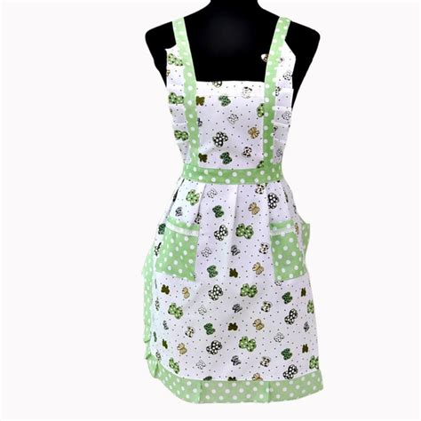 Kitchen Aprons by Popular White Ruffled Aprons Buy Cheap White Ruffled