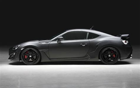 Toyota 86 Modification by Modification Toyota 86 Sport Line Matte Black The New