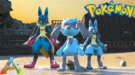 Lucario Evolutions! Riolu, Lucario, & Mega Lucario