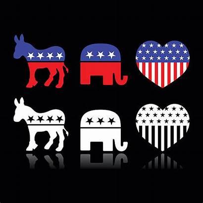 Political Vector Symbols Parties Republican Party Clip