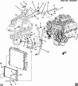 2006 Cadillac Sts Exhaust System