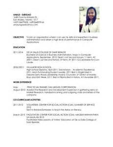 simple resume objective statement resume nurses sle sle resumes