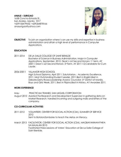 resume nurses sle sle resumes