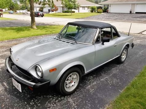 1982 Fiat Spider 2000 by 1982 Fiat 124 Spider 2000 Pininfarina Convertible With
