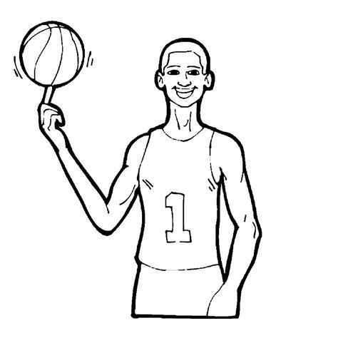 Kleurplaat Basketbal by Sport Basketbal Kleurplaten Kleurplatenpagina Nl