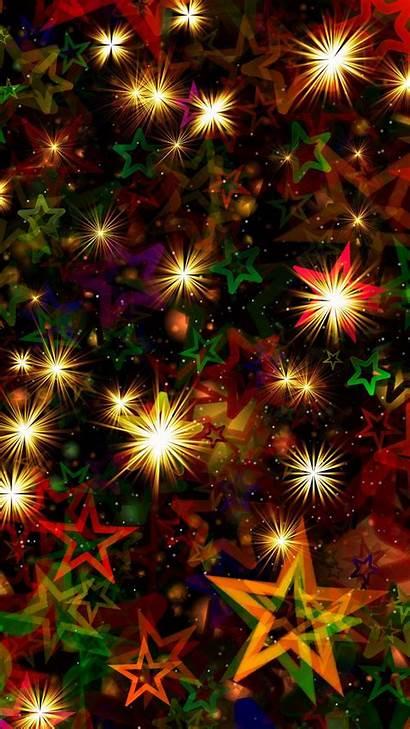 Glitter Stars Texture 4k Abstract Yellow 2560