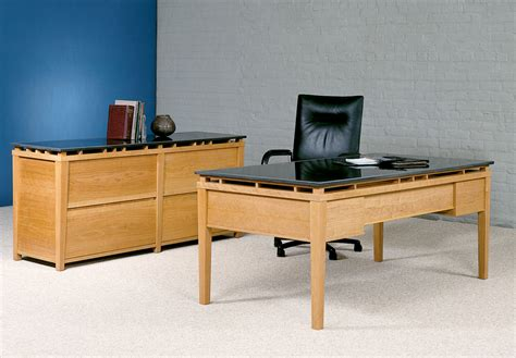 executive office furniture cherry wood and granite desk