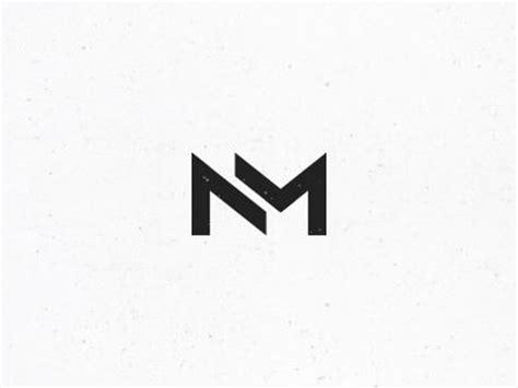 nm monogram 3 personal logo personal identity and monograms