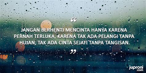 kata kata  tentang hujan  kenangan juproni