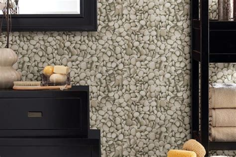 moisture proof wallpaper  bathrooms beautify