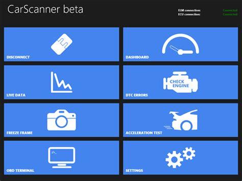 car scanner pro for windows 10 pc mobile free topwindata