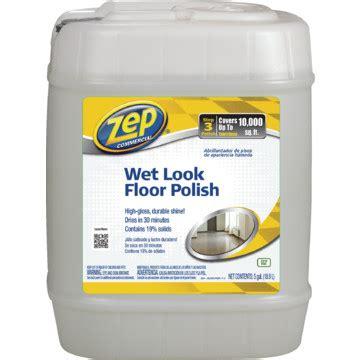 floor finish  gallon zep wet  hd supply