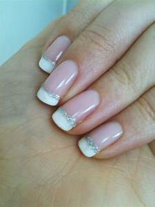 Nails. Simple variation on a classic french manicure ...