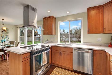 maple kitchen cabinets with quartz countertops pecan shaker maple pius kitchen bathpius kitchen