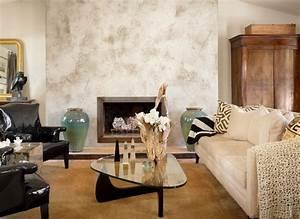 Wohnzimmer Farbe Gestaltung : wand streichen ideen und techniken f r moderne wandgestaltung freshouse ~ Markanthonyermac.com Haus und Dekorationen