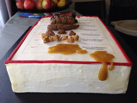 My Bristol Stool Chart Cake My Creations Pinterest