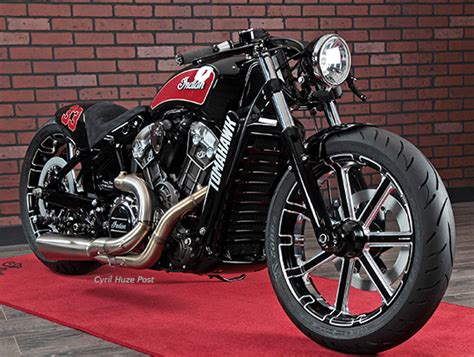 Tomahawk. A Very Sharp Custom Indian Scout. At Cyril Huze