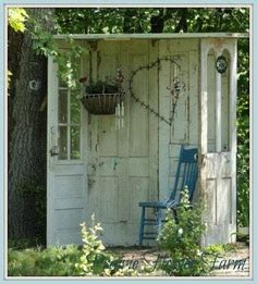 Sweet Garden Retreats by How To Recycle Recycling Doors