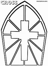 Cross Coloring Pages Catholic Colorings sketch template