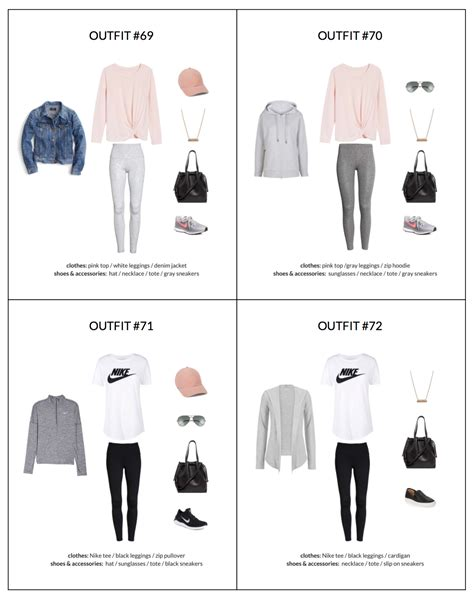 athleisure capsule wardrobe spring  collection