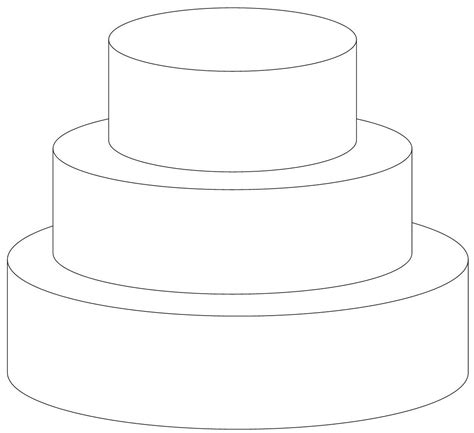 cake template cake coloring pages coloringsuite