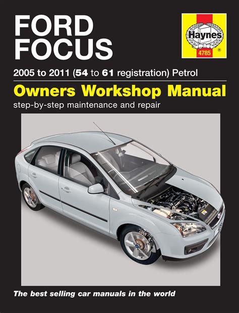 ford focus     petrol     reg haynes