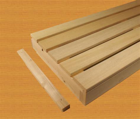 abachi holz kaufen saunaliegen saunab 228 nke bodenroste aus abachiholz sowie