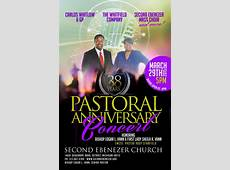Pastoral Anniversary Concert Second Ebenezer Church