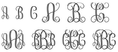 monogram fonts  designers aptgadgetcom