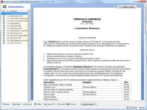 lettera al condominio assemblea condominiale dalla convocazione al verbale con