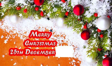 christmas celebrated    december