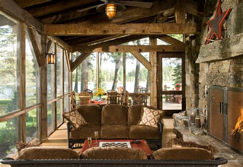 montana mountain barn retreat small house swoon