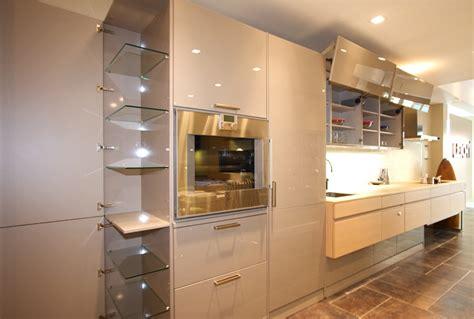 manhattan ny kitchen showroom luna full height cabinets
