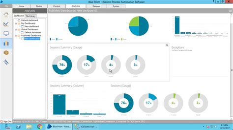 blueprism tile create beautiful dashboard reports youtube