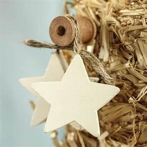 Primitive, Wood, Star, Jute, Trim, Ornament, -, Americana, Decor, -, Home, Decor