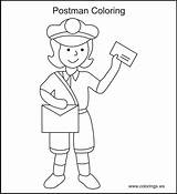 Coloring Pages Office Mail Printable Colouring Mailman Community Sheets Usps Helpers Books Template Preschool Google Popular Crafts Activities Templates sketch template