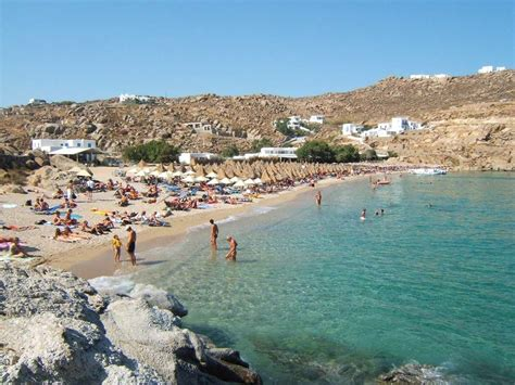 Paradise Beach In Mykonos Greece Places Ive Been