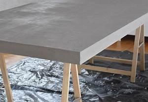 Beton Tisch Diy : diy tischplatte in betonoptik diy tischplatte ~ A.2002-acura-tl-radio.info Haus und Dekorationen