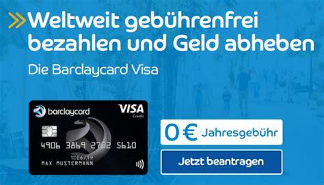 barclaycard visa neue karte neue features
