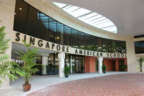 Day View Of Singapore American School (central