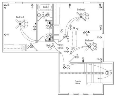 electrical drawing residential the wiring diagram