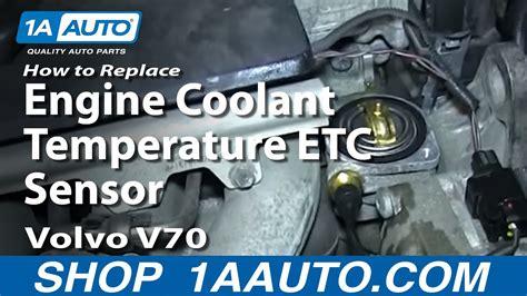 diagnose replace volvo engine coolant temperature