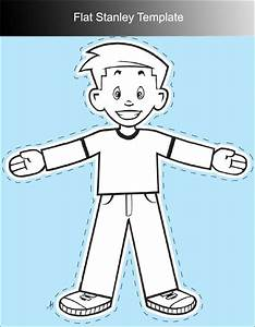 45 flat stanley templates free download creative template With printable flat stanley template
